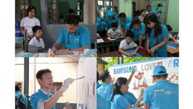 Photo of سامسونج للإلكترونيات تساعد على إبراز عوالم الأطفال في ميانمار