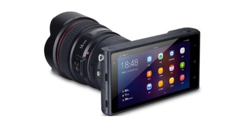Photo of كاميرا جديدة بدون مرآة على Android وتعمل مع عدسات كانون