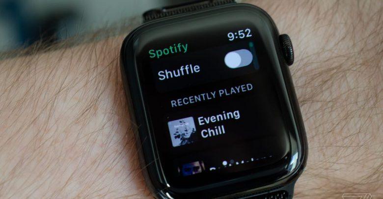 Photo of Spotify يقوم باختبار تطبيق Apple Watch الرسمي